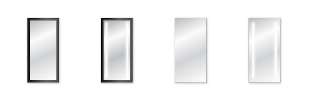 Druhy zrkadiel na mieru
